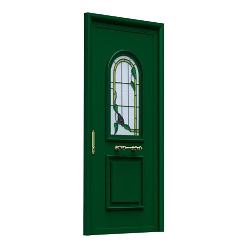 aluabi-indupanel-puertas-ipstamp-ip6-1v-vitral-color-verde