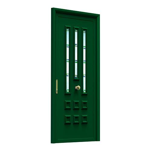 aluabi-indupanel-puertas-tempo-carro-3v-vitral-emplomado-verde