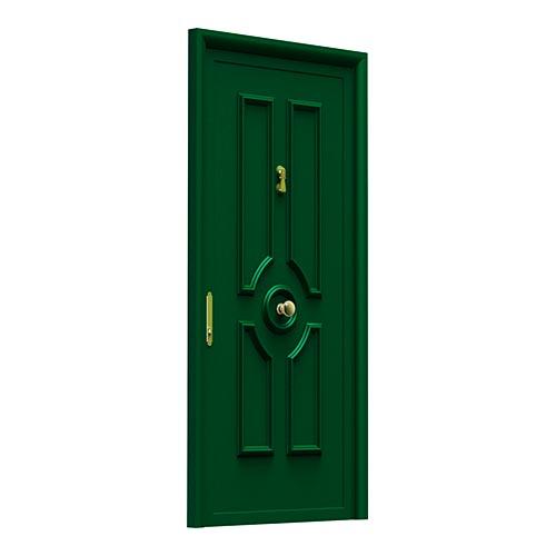 aluabi-indupanel-puertas-tempo-ofiuco-ciega-verde